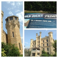 Photo taken at Old Joliet Prison by Nic M. on 7/18/2014