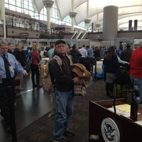 Photo taken at North Security Checkpoint by Jeanne S. on 11/30/2012