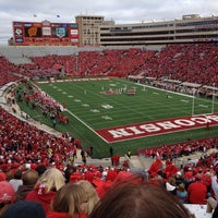 Photo taken at Camp Randall Stadium by Chris S. on 9/22/2012