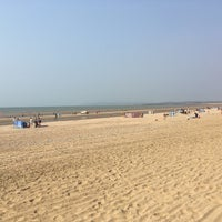Photo taken at Camber Sands Beach by Joan D. on 8/27/2016