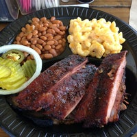 Photo taken at Gatlin's BBQ by Raul M. on 3/14/2013