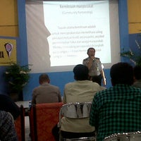 Photo taken at Surau Baitul Amin Sawangan by Fanany R. on 5/14/2013