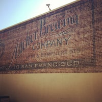 Photo taken at Anchor Brewing Company by Caroline D. on 2/6/2013