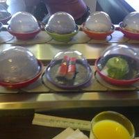 Photo taken at Okiru Running Sushi by Begum T. on 3/4/2013