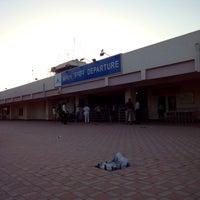 Photo taken at Rajkot Airport (RAJ) by Kaushal B. on 2/28/2014