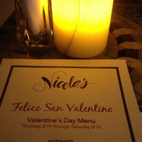 Photo taken at Nicola's Ristorante by Mike M. on 2/17/2013