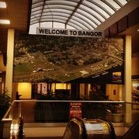 Photo taken at Bangor International Airport (BGR) by Adam O. on 7/22/2013