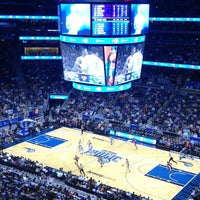 Photo taken at Amway Center by Rafael F. on 3/12/2013