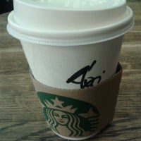 Photo taken at Starbucks by Agnes Linda G. on 10/30/2012