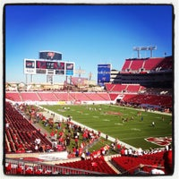 Photo taken at Raymond James Stadium by Mariana B. on 11/25/2012