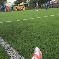 Photo taken at Deportivo Boulevares by Gibran M. on 9/7/2013