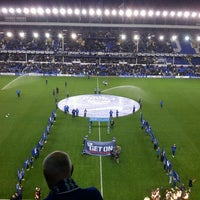 Photo taken at Goodison Park by Paddy H. on 9/17/2012
