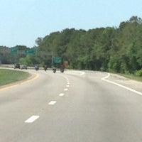 Photo taken at Interstate 95 by Kira Ann on 5/4/2014