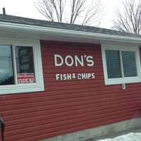 Photo taken at Don's Fish & Chips by Kevin B. on 3/19/2014