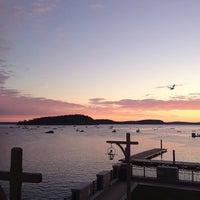 Photo taken at Harborside Hotel & Marina by Kelly A. on 10/28/2013