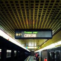 Photo taken at Metro Porta Romana (M3) by renzo g. on 7/26/2013