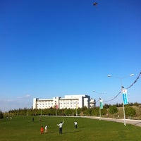 Photo taken at Bilkent University by Merve D. on 4/23/2013
