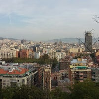 Photo taken at Parc de Bombers de Montjuïc by Shunsuke Y. on 10/20/2013