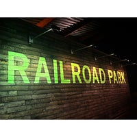 Photo taken at Railroad Park by Scott C. on 8/7/2013