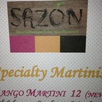 Photo taken at Sazón by Vickie C. on 7/21/2013