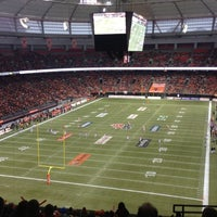 Photo taken at BC Place by Carlos T. on 11/18/2012
