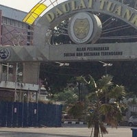 Photo taken at Dataran Shah Bandar Kuala Terengganu by Zulaiha Z. on 4/14/2016