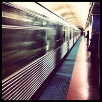 Photo taken at CTA - Chicago (Blue) by Jason C. on 10/31/2012