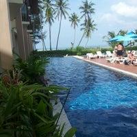 Photo taken at Lanta Pura Beach Resort by Chaiwat S. on 1/6/2013