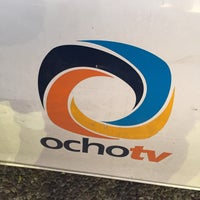 Photo taken at Ocho TV by Edgar E. on 10/11/2016