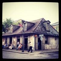 Photo taken at Lafitte's Blacksmith Shop by jennifer s. on 5/12/2013