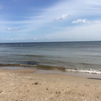 Photo taken at Strand Baabe by Franziska W. on 8/11/2014