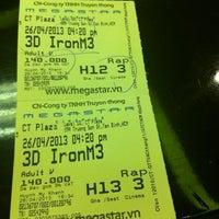 Photo taken at CGV Cinemas CT Plaza by Suong N. on 4/26/2013