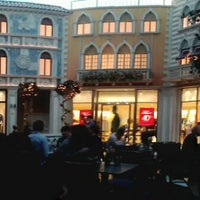 Photo taken at Tintoretto Bakery (Venetian Hotel) by Arpit M. on 1/10/2013