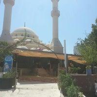 Photo taken at Gündoğan Merkez Camii by Beyhan R. on 8/12/2016