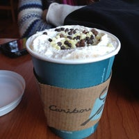 Photo taken at Caribou Coffee by Denis M. on 11/17/2012