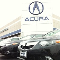 Photo taken at Karen Radley Acura by Douglas S. on 4/26/2012
