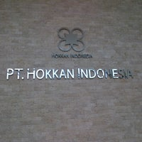 Photo taken at PT. Hokkan Indonesia by Ari H. on 8/23/2012