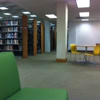 Photo taken at Library at Doyle Hall by Carlos S. on 2/21/2012