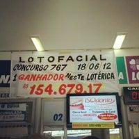 Photo taken at Loteria Cantinho da Sorte by Brunno d. on 7/11/2012
