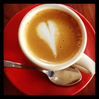 Photo taken at La Stazione Coffee & Wine Bar by Catherine B. on 2/17/2012