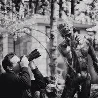 Photo taken at Jardin du Musée Rodin by Arthur F. on 4/1/2012