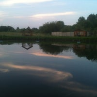 Photo taken at Пруд в ЦПКиО by Rodion R. on 7/16/2012