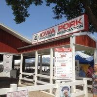 Photo taken at Iowa Pork Tent by Ron A. on 8/15/2012