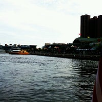Photo taken at Water Taxi Landing 2 - Harborplace by Kimberly D. on 7/11/2012