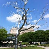 Photo taken at National Gallery of Art - Sculpture Garden by Kristen P. on 4/19/2012