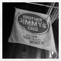 Photo taken at Brother Jimmy's BBQ by Angie A. on 6/24/2012