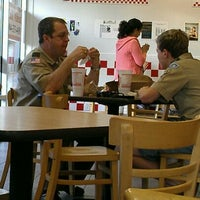Photo taken at Five Guys by Josh on 4/10/2012