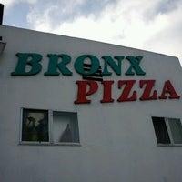 Photo taken at Bronx Pizza by M@ M. on 4/19/2012