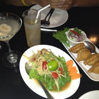 Photo taken at SriPraPhai Thai Restaurant by Caroline K. on 5/20/2012