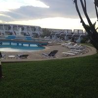 Photo taken at La Corniche de Casablanca by Adina L. on 7/1/2012